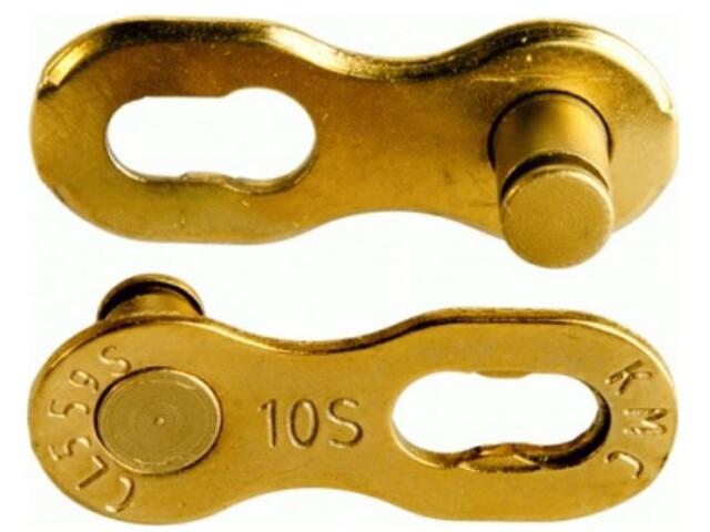 KMC 10R Ti-N Missing Link 10-speed, gold